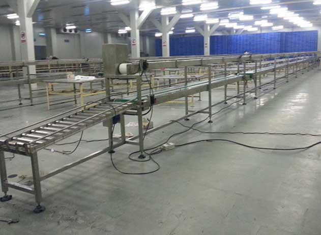 Double-Deck-Two-Tier-conveyor-system